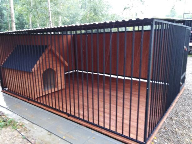 Kojce Klatki Boksy Kojec dla psa 3x3,5m