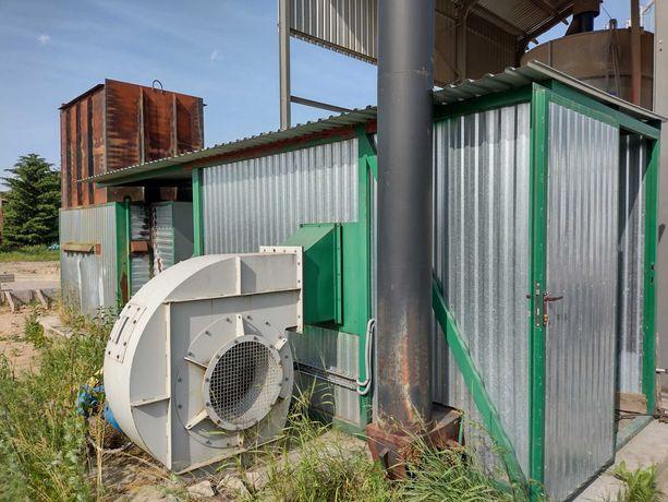 Piec na słomę nagrzewnica powietrza do suszarni Ekogenerator