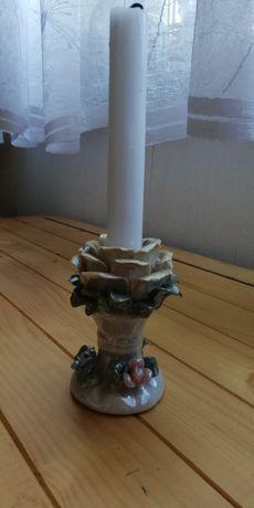 Świiecznik  porcelanowy