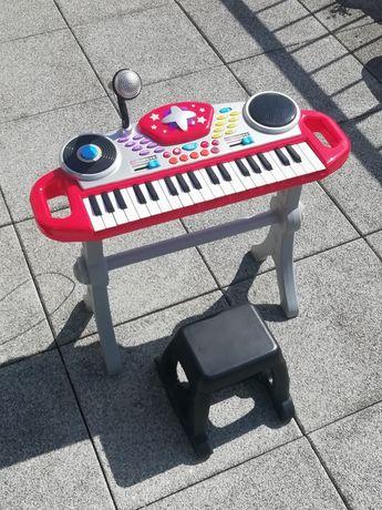 Conjunto teclado de brincar