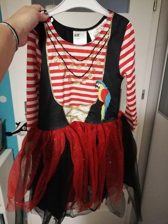 Sukienka pirat, bal przebierańców