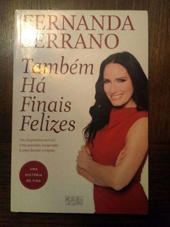 """Livro """"Tambem há finais felizes"""" Fernanda Serrano"""