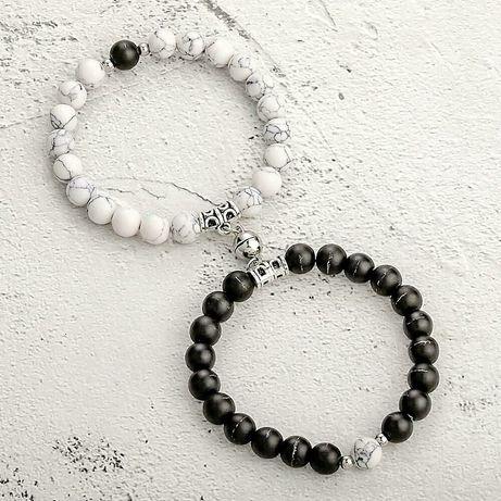 Парные браслеты на магнитах для влюбленных,подарок для любимойЛюбимого