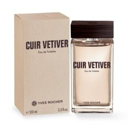 Yves Rocher Cuir Vetiver 100 ml nowe folia