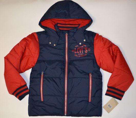 Куртка Levis новая синтепон с флисом на 9-10 лет