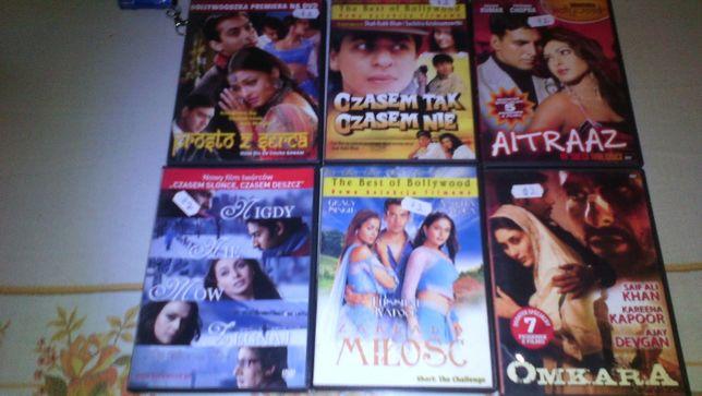 sprzedam rozne filmy: kuchnia, bollywood i inne