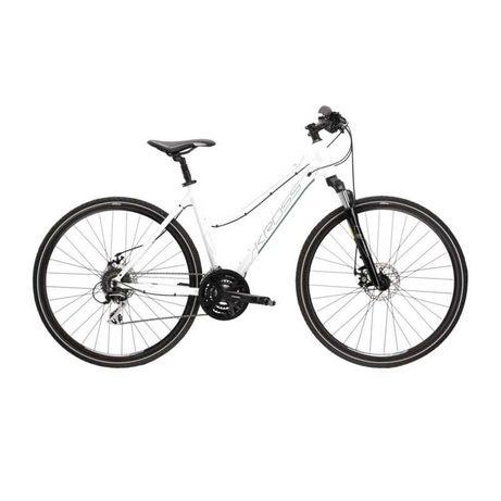 Skradziono Rower Evado 4.0 biały damka rozmiar ramy L