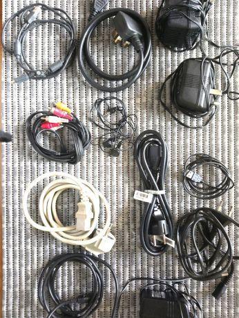 Kable,ładowarki,kamerka,inne.