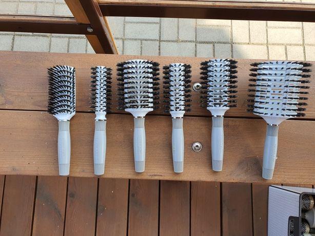 Komplet 6 szczotek Thermal Brush Olivia Garden