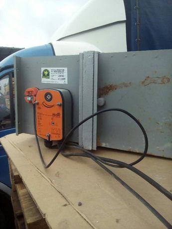 Клапан огнезадерживающий КП1-150*150-24 с приводом Belimo(цена за 1шт)