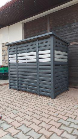 Wiata śmietnikowa Wiata panelowa schowek garaż smietnik