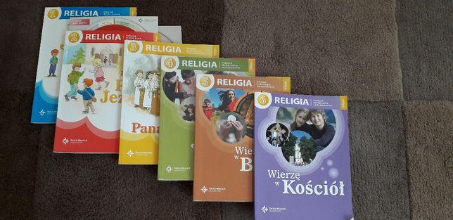 Podręczniki; książki do religii, wydawnictwo św. Wojciech.