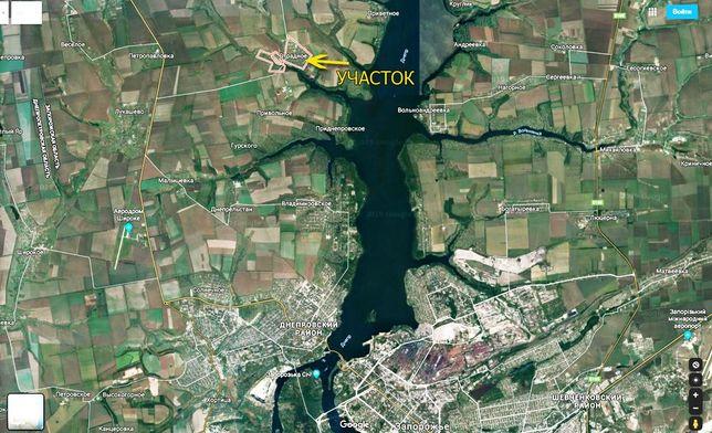 Земельный участок. Село Отрадное. Запорожская область.