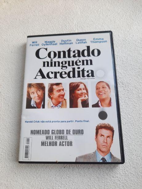 Contado Ninguém Acredita (DVD)