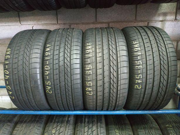 Різноширокі шини 245/40R19 i 275/35R19 (RF) GOOD YEAR