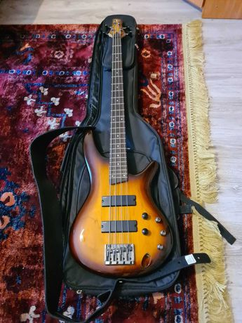 Gitara basowa Ibanez Sr370 BBT + wzmacniacz esp ltd 15b