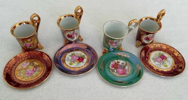 Chávenas e pires de Coleção OHASHI CHINA 1932, Vintage