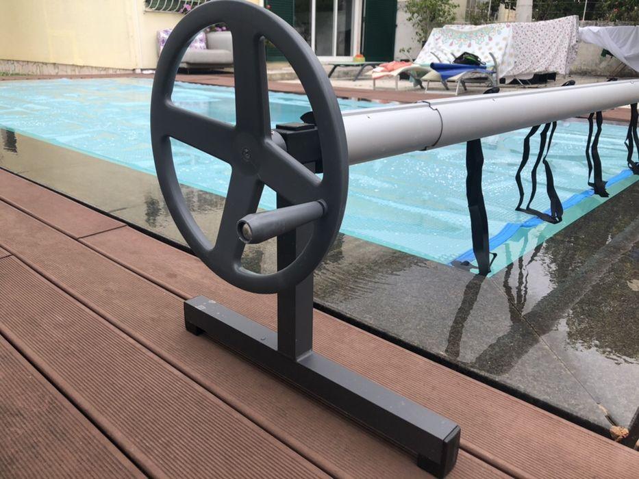 Enrolador para cobertura de bolhas piscinas mergulho salgado piscinas Cascais E Estoril - imagem 1