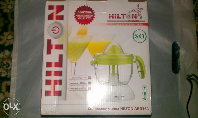 Соковыжималка для цитрусовых Hilton AE 3164