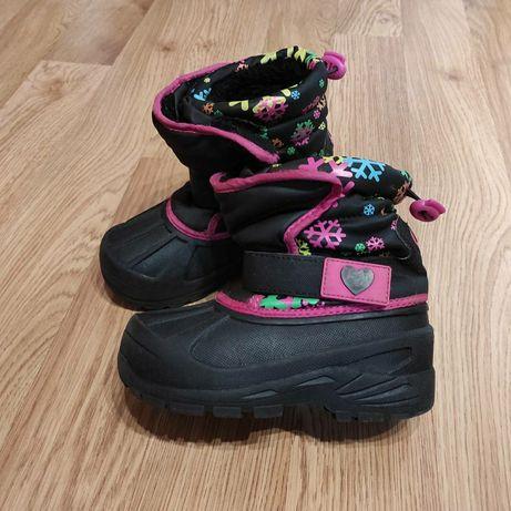 Зимние ботинки athletech на девочку р. 29