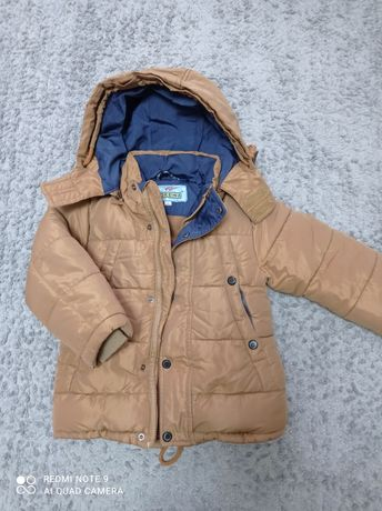 Зимняя куртка на мальчика, 3 года