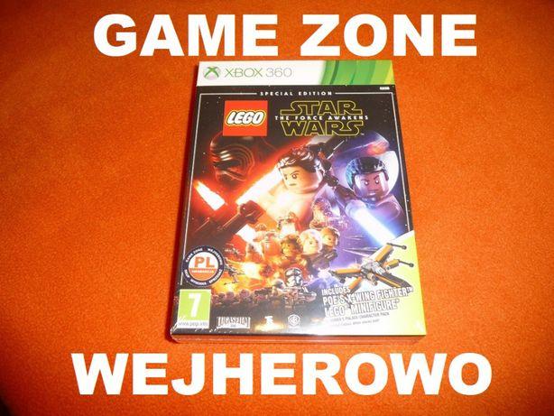 LEGO Star Wars Xbox 360 + Slim + E = PŁYTA PL Dubbing + klocki Lego