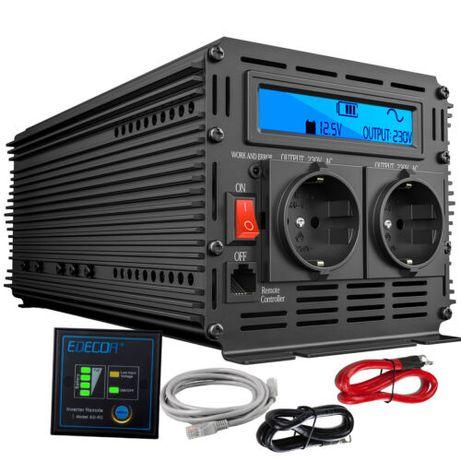 2000W 4000W 12V 220V 230V AC Onda Sinusoidale Pura Convertitore Invert