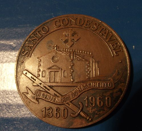 Rara e antiga medalha da Mocidade Portuguesa