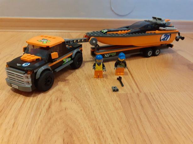 Lego City 60085 - Terenówka z motorówką