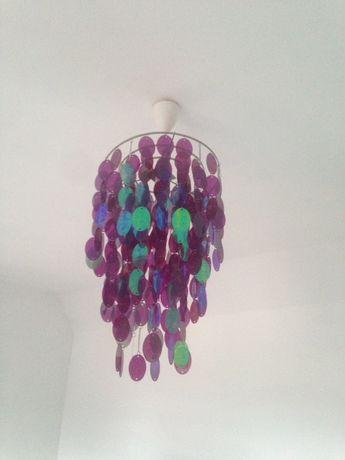 Lampa, żyrandol śliczna glamur