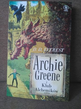 Ksiazka Archie Greene i klub alchemikow