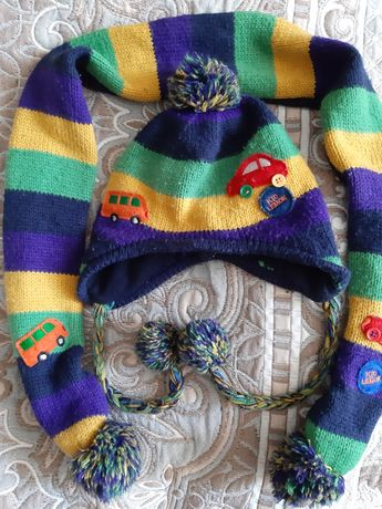 Шапка шарф Деми для мальчика