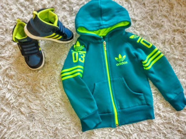 Bluza Adidas neo r.98/104+buty Adidas neo r.27 zestaw