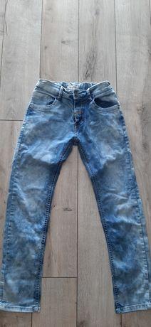Spodnie jeansy roz 152