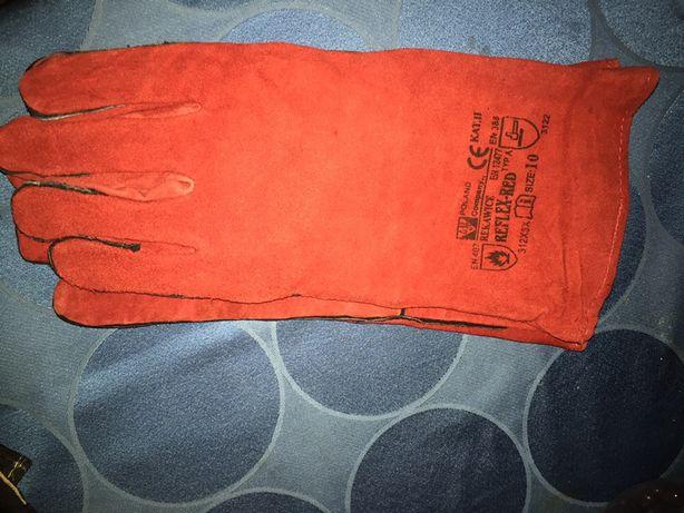Rękawice ślusarskie nowe 3 szt
