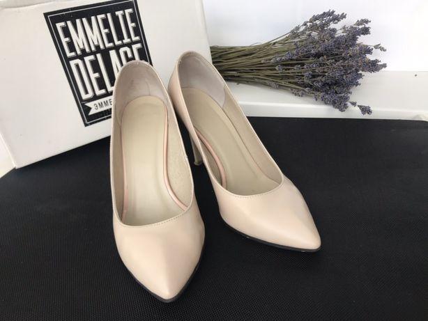 Туфли кожаные Emmelie Delage 39 р