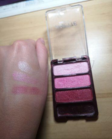 Różowe perłowe cienie Janette paleta cieni