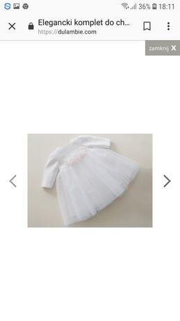 Sukienka wizytowa do chrztu