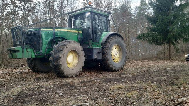 ciągnik leśny John Deere 8420