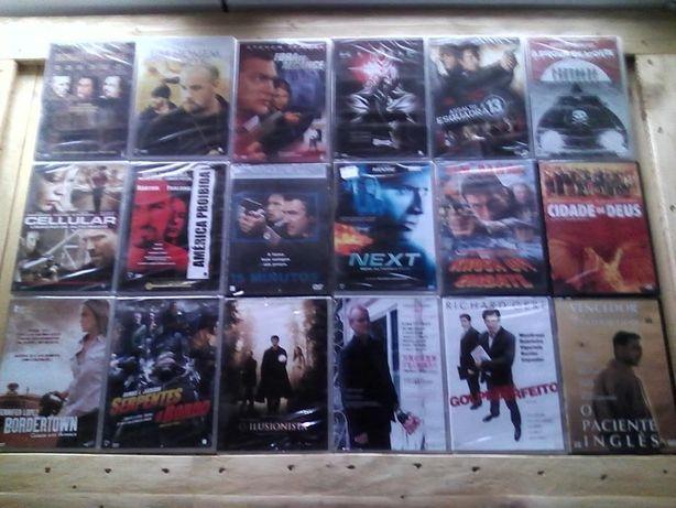 filmes em DVD embalados e selados (novos)