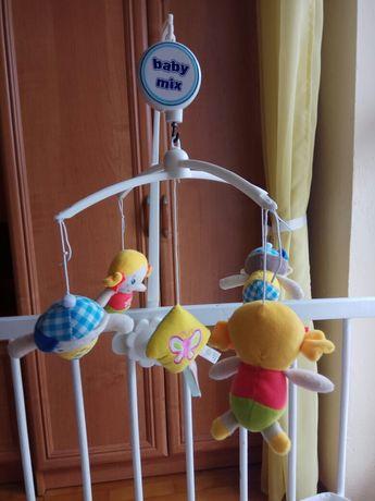 Karuzela z pozytywką baby mix lalki