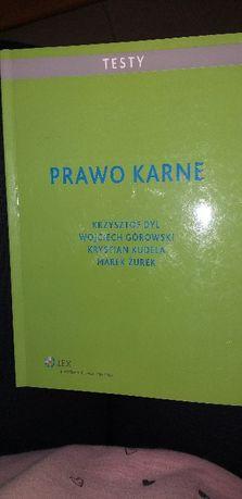 Prawo karne testy Wolter Kluwer Krzysztof Dul
