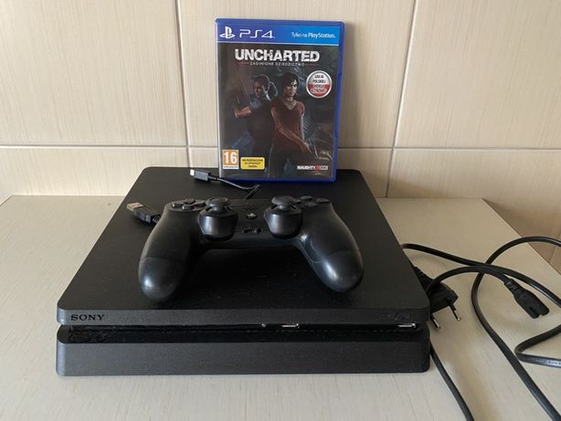 Sony ps4 1TB + gry