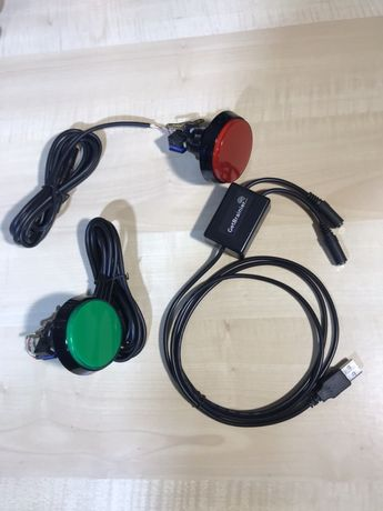 Botão led USB Cabine foto, GetBrainier - Novo