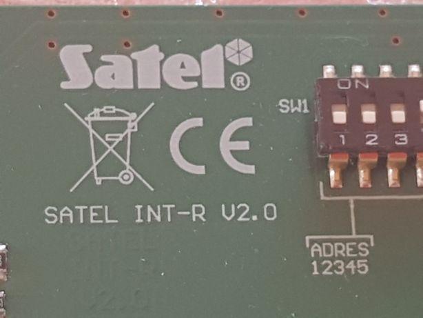 Ekspander czytnika kart Satel INT-R V2.0