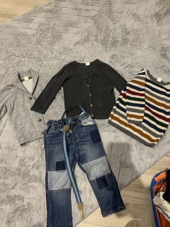 Sweter , spodnie chłopięce h&m 86