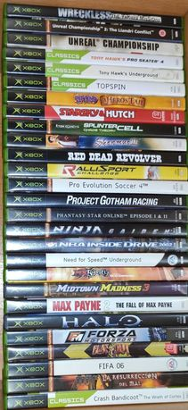 22 Jogos Xbox Spyro Crash Red Dead Forza Tony Hawk Doom Halo Max etc