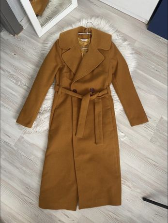 Пальто Colett  миди, размер с, под пояс классическое