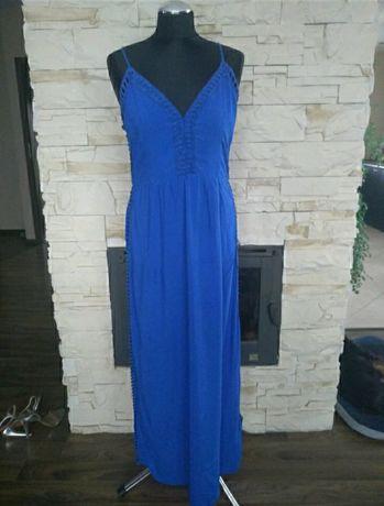 Sukienka na lato niebieska