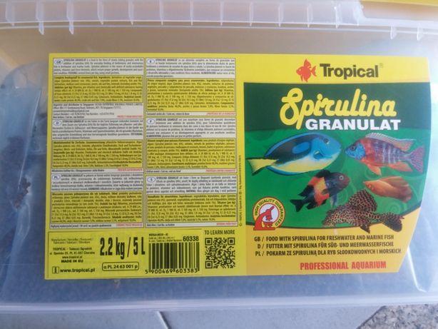 Comida Peixes Tropical spirulina granulat 1000ml avulso